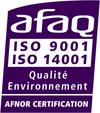 AFAQ certification [French quality assurance body]